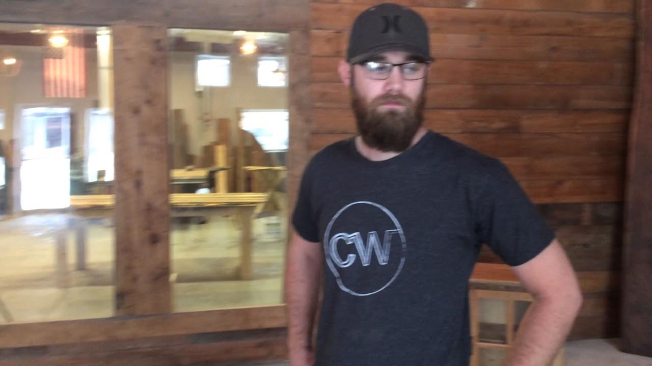 Devon Evers describes his Crossgrain Woodworking business