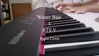 Winter Bear - BTS V | Piano Cover видео