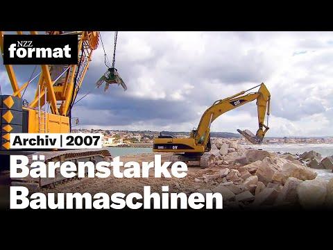 Bärenstarke Baumaschinen (HD 1080p) - Dokumentation von NZZ Format (2007)