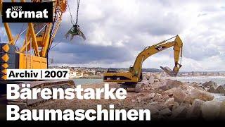 Bärenstarke Baumaschinen HD 1080p - Dokumentation von NZZ Format 2007