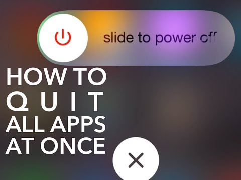 HOW TO: Quit All iPhone Apps at Once
