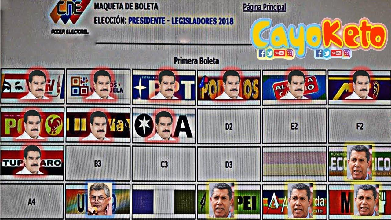 Image Result For Tarjeton Elecciones Presidenciales
