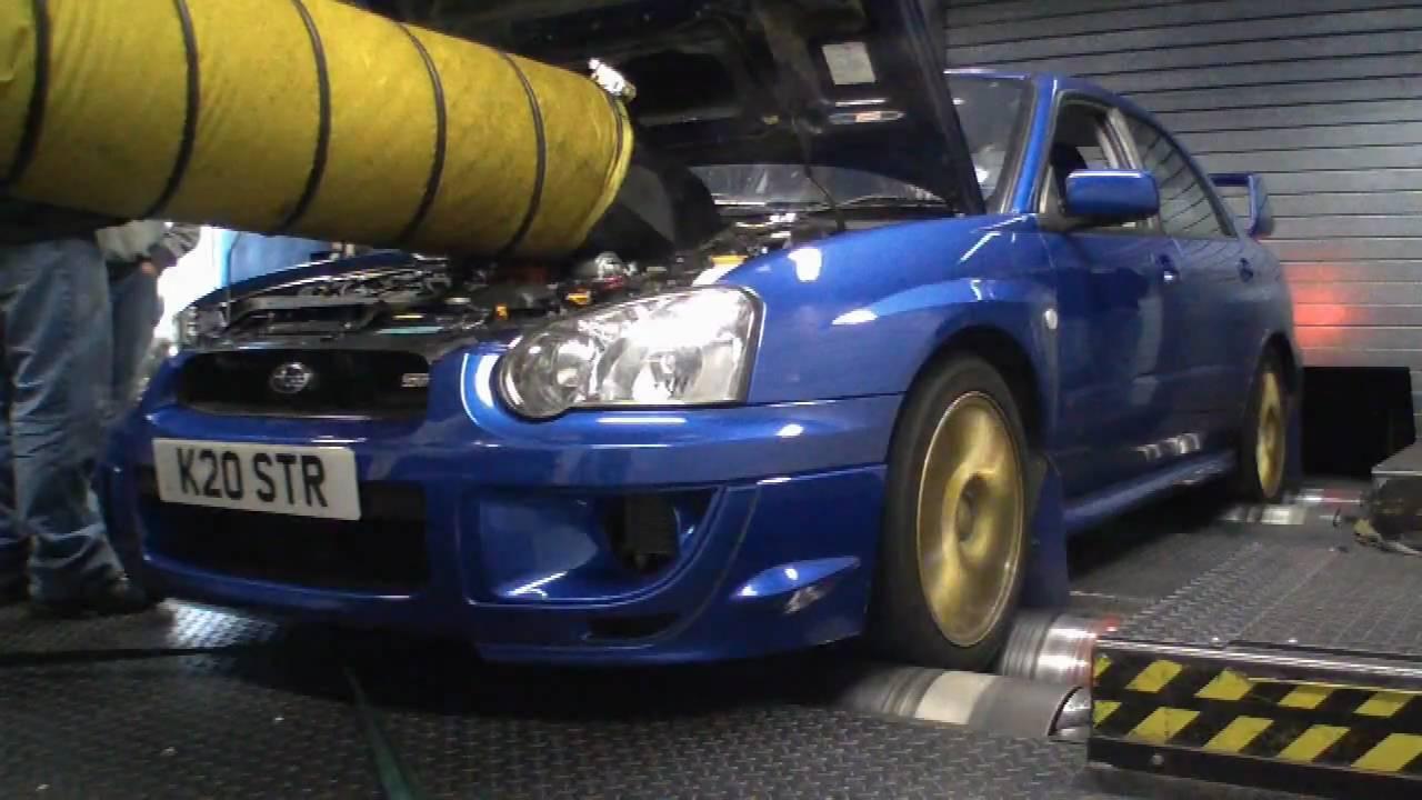 Subaru Impreza Wrx Sti Type Uk Ppp Blitz Nur Spec R On Station Dyno Rolling Road You
