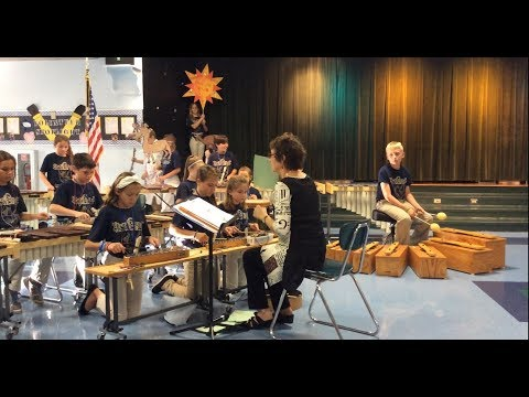 """One Night"" Orffestra of Gene Witt Elementary School in Bradenton, FL"