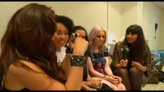 Friday Download behind the scenes with Little Mix & Dionne Bromfield
