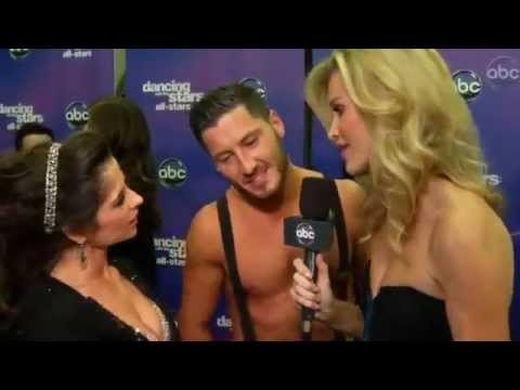 DWTS HD Kelly Monaco & Val - Live After Party Interview Week 8-OTRC.