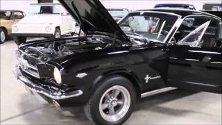 1965 Ford Mustang Fast Back Black