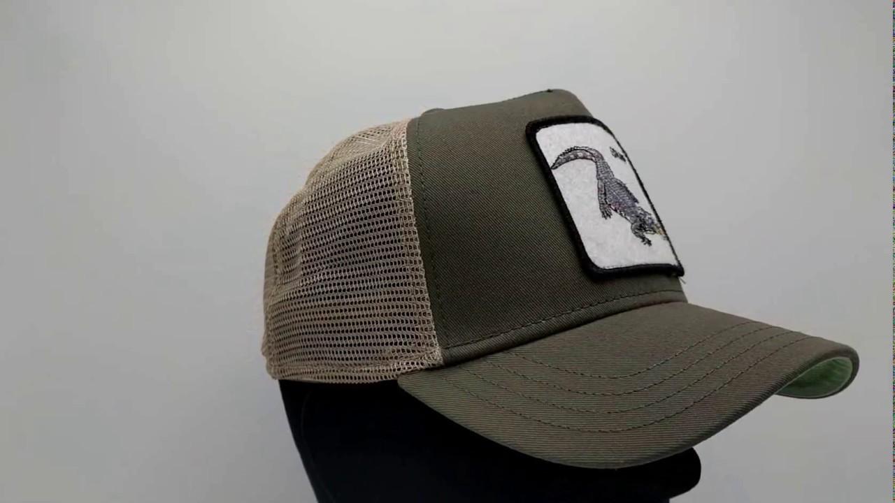 Goorin Bros. Snap At Ya Trucker cap - olive - €34 296f1d35dbb3