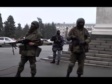 The head of Russia-occupied territory in eastern Ukraine fled to Russia.