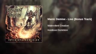 Manic Demise - Live (Bonus Track)