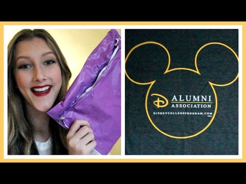 Disney Alumni Association Unpacking│amypuddlesDCP