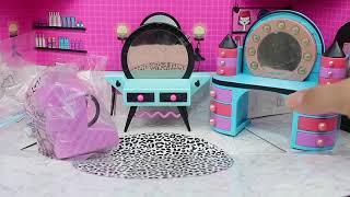 LOL Sürpriz Furniture Yeni Eşyalar Kuaför Salonu LOL Beauty Salon Türkiye'de İLK! Bidünya Oyuncak 🦄