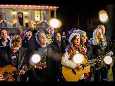 Silent Night - Surprise Christmas Caroling! #ASaviorIsBorn   Gardiner Sisters