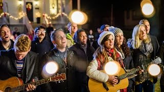 Video Silent Night - Surprise Christmas Caroling! #ASaviorIsBorn | Gardiner Sisters download MP3, 3GP, MP4, WEBM, AVI, FLV Agustus 2018