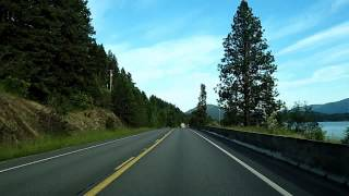 Idaho & Montana Route 200 Dashcam from Sandpoint, Idaho