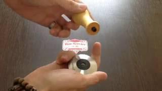 видео Темпер, ручка/дерево/черный 58 мм, CoffeeStyle