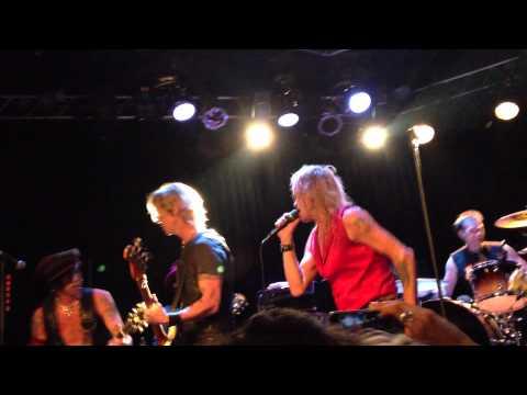 Michael Monroe with Duff McKagan