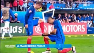 Résumé buts France - Islande Euro 2016