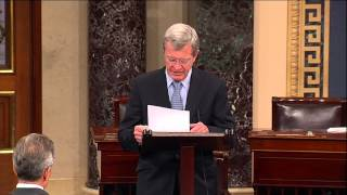 Senator Baucus Pays Tribute to Russ Sullivan and AJ Hassann