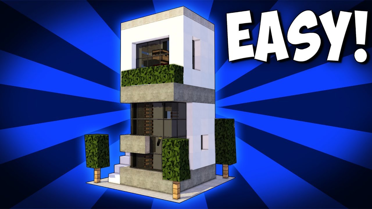 Minecraft: 5X5 Starter House Tutorial - How to Build a ...
