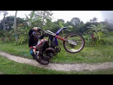 SLOW RIDE    MOTOCROSS    YAMAHA F1Z    TRAIL RAKITAN    TRABAS