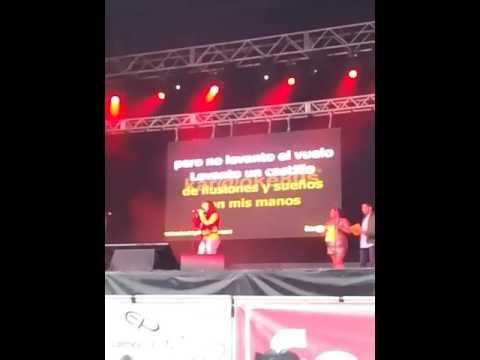 Karaoke Burela 2017 (brenda) segundo  premio