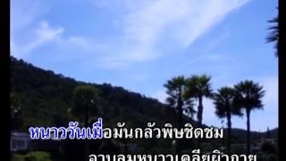 รักในลมหนาว - บุษยา รังสี 【Karaoke : คาราโอเกะ】