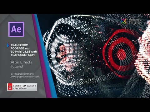 After Effects Tutorial - Turn Footage into 3D Particles