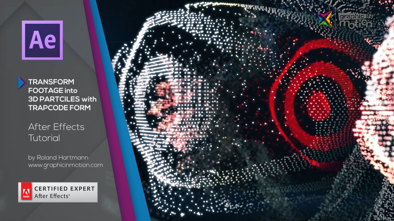 Turn footage into 3d particles with trapcode form after for Habitacion 3d after effects