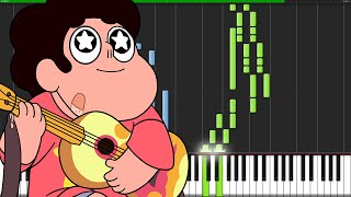 Here Comes a Thought - Steven Universe [Piano Tutorial] (Synthesia) // Zeila