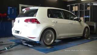 Reprogrammation Moteur VW Golf 7 2.0 tdi 150cv @ 181cv Digiservices Paris Dyno