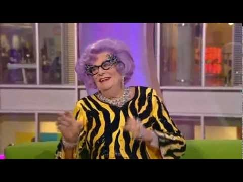 Dame Edna on The One Show - 21st March 2013 farewell tour interview