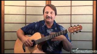 He Went To Paris Acoustic Guitar Lesson - Jimmy Buffett