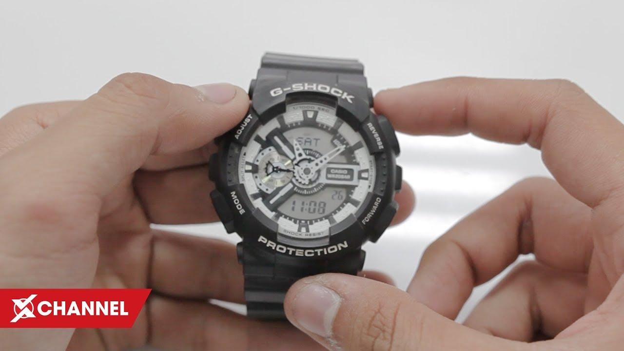 Review đồng hồ G Shock GA-110BW-1ADR sau gần 1 năm sử dụng ...