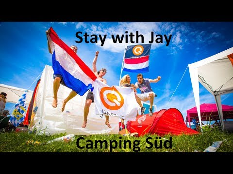 Stay with Jay: electric love 2017 - Camping Süd