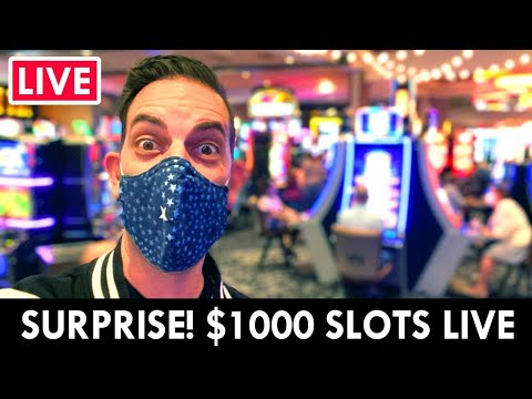 🔴 SURPRISE LIVE! 🥳 $1000 Casino Slots At Gila River Lone Butte