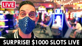 🔴 SURPRISE LIVE! 🥳 $1000 Caṡino Slots at Gila River Lone Butte