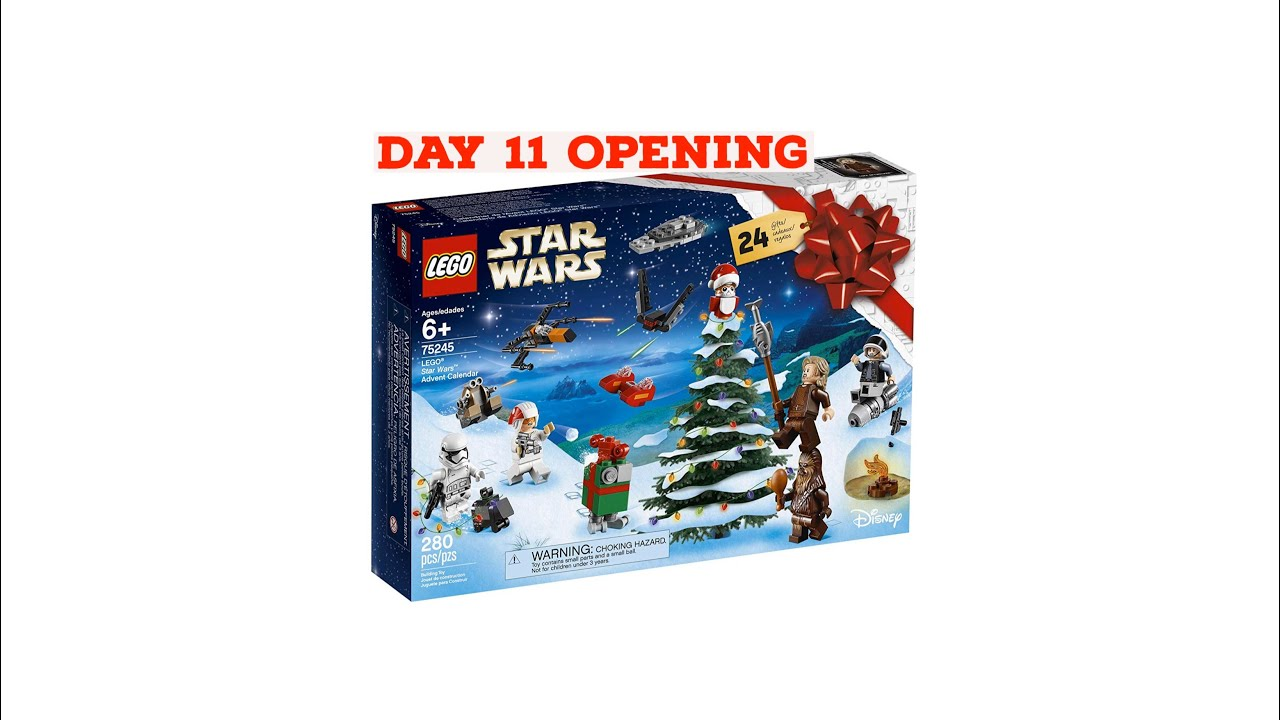 day 11 opening lego star wars 75245 advent calendar 2019. Black Bedroom Furniture Sets. Home Design Ideas