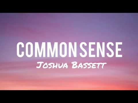 Common Sense - Joshua Bassett (Lyrics)