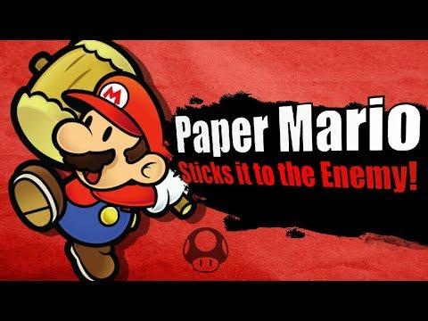 Smash Bros. Lawl's Peak Academy - Paper Mario