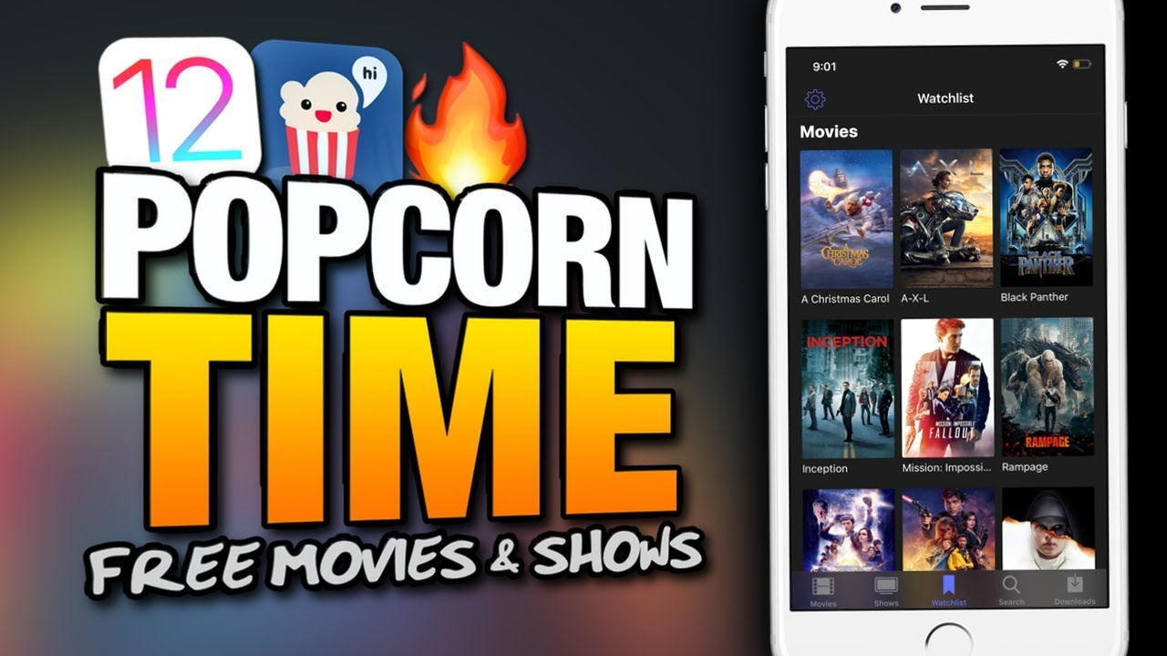 How To Get POPCORN TIME On iOS 12 FREE MOVIES & TV SHOWS On iPhone & iPad