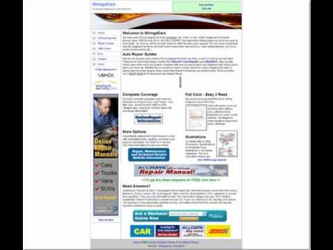 [DIAGRAM_3US]  Free Automotive Wiring Diagrams - YouTube | Free Automotive Wiring Diagrams Vehicles |  | YouTube