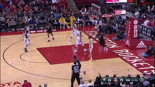 3rd Quarter, One Box Video: Houston Rockets vs. Indiana Pacers