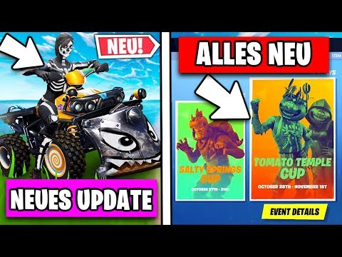 Neues GROSSES Update 😱 Viele Änderung, Patch Notes, Skins | Fortnite Saison 6 Deutsch German