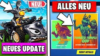 New BIG Update 😱 Many Changes, Patch Notes, Skins | Fortnite Season 6 German German