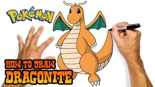 How to Draw Dragonite | Pokemon