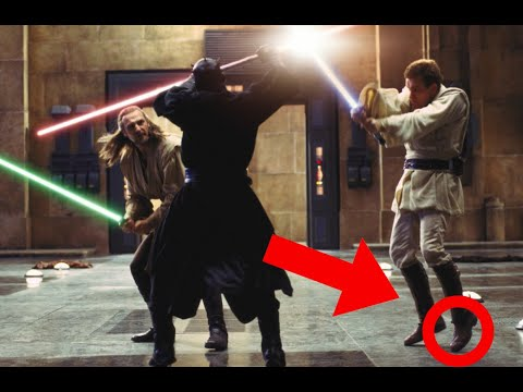 SwordFighting in Star Wars Ep. I
