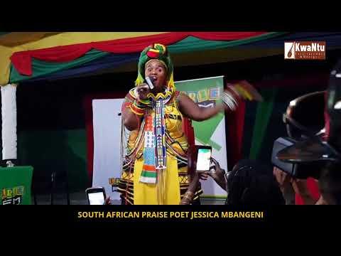 JESSICA MBANGENI RIPS JAMAICA APART FULL PERFORMANCE