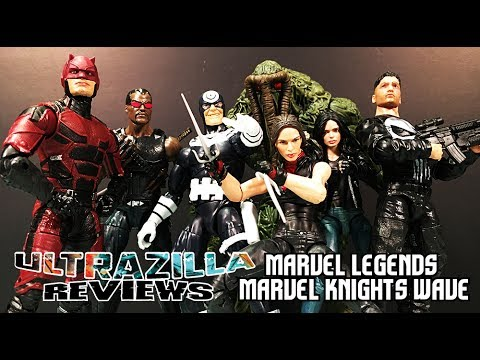 MARVEL LEGENDS MARVEL KNIGHTS FULL WAVE REVIEW!