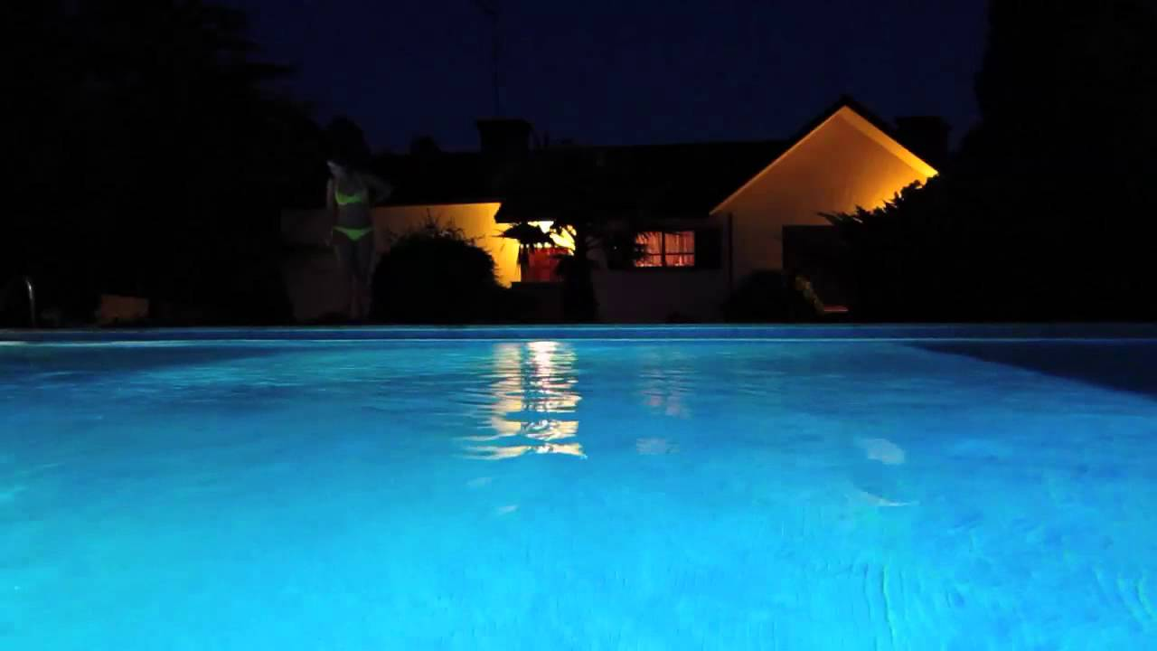 Piscina Noite Youtube